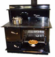 pioneer princess wood cook stove