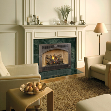 Lopi 564 Space Saver Gas Fireplace