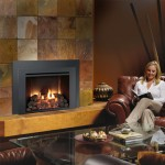 Lopi 616 stone media Fireplace Insert