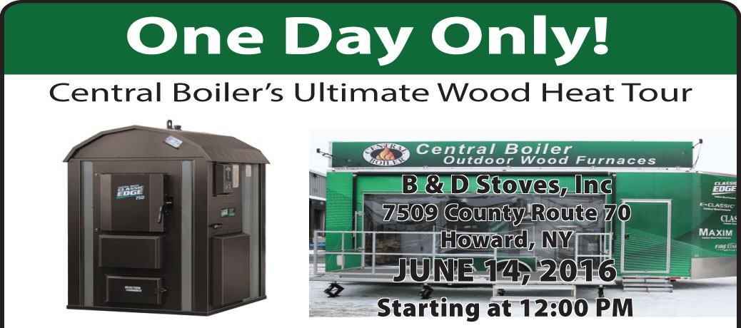 Central Boiler's Ultimate Wood Heat Tour