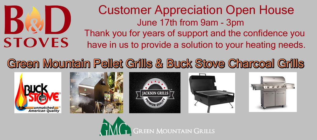 Customer Appreciation Open House June 17th from 9am – 3pm