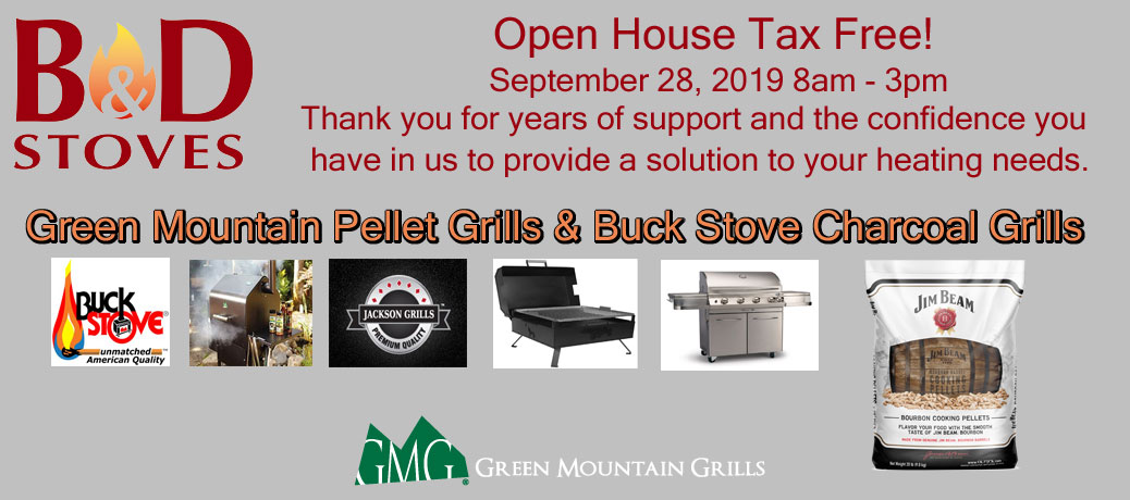 Open House Sept. 28th from 8am – 3pm – No Sales Tax